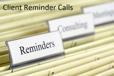 Client Reminder Calls